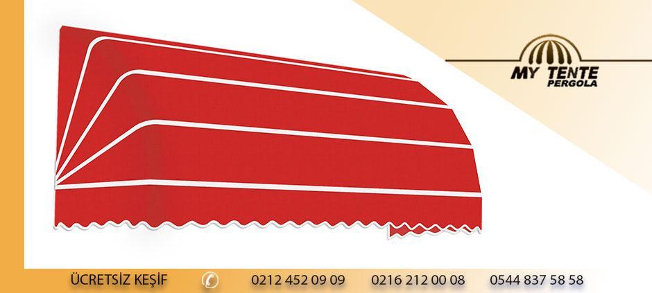 Körüklü Tente Kırmızı